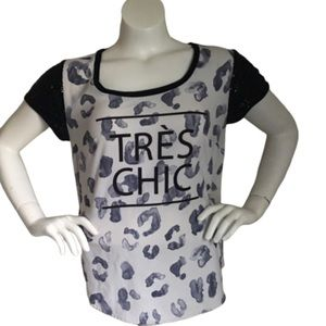 Torrid Graphic T-shirt with sequenced sleeves